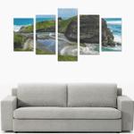 West Coast New Zealand Canvas Print K4 - 1st New Zealand