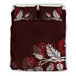 Pohutukawa New Zealand Bedding Set - Red 02 K5 - 1st New Zealand