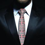 New Zealand Neck Tie, Maori Pattern Classic Necktie (Two Sides) 10 K4 - 1st New Zealand