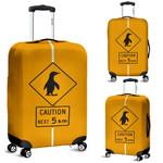 New Zealand Penguin Luggage Cover, New Zealand Suitcase Covers K5 - 1st New Zealand