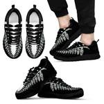 New Zealand Sneakers, Maori Silver Fern Trainers K4 - 1st New Zealand