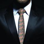 New Zealand Neck Tie, Maori Pattern Classic Necktie (Two Sides) 02 K4 - 1st New Zealand