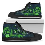Silver Fern High Top Shoes Green - 1st New Zealand