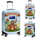 New Zealand Symbols Luggage Cover, New Zealand Suitcase Covers A1 - 1st New Zealand
