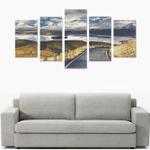 New Zealand Southern Alps and Lake Tekapo Canvas Print K4 - 1st New Zealand
