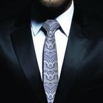 New Zealand Neck Tie, Maori Pattern Classic Necktie (Two Sides) 25 K4 - 1st New Zealand