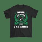 New Zealand T Shirt - A Woman Who is a New Zealander - 1st New Zealand