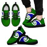 New Zealand Sneakers, Koru Flag Trainers K4 - 1st New Zealand