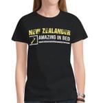 New Zealander -  Amazing In Bed T Shirt - 1st New Zealand