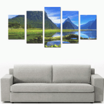 New Zealand Milford Sound Canvas Print K4 - 1st New Zealand