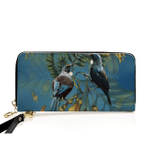 New Zealand Tui And Kowhai Wallet H45 - 1st New Zealand