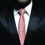 New Zealand Neck Tie, Maori Pattern Classic Necktie (Two Sides) 08 K4 - 1st New Zealand
