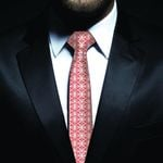New Zealand Neck Tie, Maori Pattern Classic Necktie (Two Sides) 07 K4 - 1st New Zealand