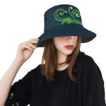 New Zealand Silver Fern Bucket Hat Green - 1st New Zealand