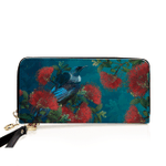 Tui with Pohutukawa Wallet - 1st New Zealand