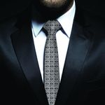 New Zealand Neck Tie, Maori Pattern Classic Necktie (Two Sides) 05 K4 - 1st New Zealand