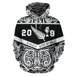 New Zealand Rugby Hoodie, Aotearoa Rugby 2019 Pullover Hoodie K4 - 1st New Zealand