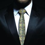 New Zealand Neck Tie, Maori Pattern Classic Necktie (Two Sides) 03 K4 - 1st New Zealand