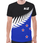 New Zealand Shirt, Silver Fern Aotearoa Flag T-Shirt - 1st New Zealand