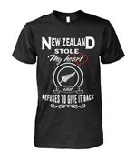 New Zealand Stole My Heart T Shirt - 1st New Zealand