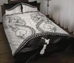 Maori Manaia Quilt Bed Set, Whakakotahi I Te Aroha K5