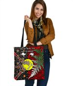 New Zealand Australia Tote Bag - Maori Aboriginal K4