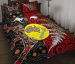 New Zealand Australia Quilt Bed Set - Maori Aboriginal K4