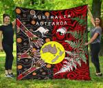 New Zealand Australia Premium Quilt - Maori Aboriginal K4
