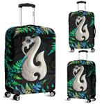 Aotearoa Luggage Covers Manaia Silver Fern Paua Shell