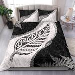 Paua Shell Maori Silver Fern Bedding Set 2 K5
