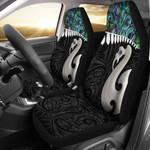 Aotearoa Car Seat Covers Maori Manaia Paua Shell A025