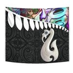 Aotearoa Tapestry - Maori Manaia Paua Shell A025