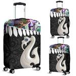 Aotearoa Luggage Covers - Maori Manaia Paua Shell A025