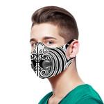 Maori Biker Sport Mask White K5