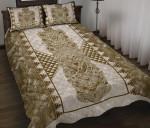 Paua Shell Whakairo Maori Quilt Bed Set K5