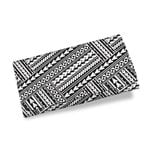 Polynesian Tribal Womens Wallet White K5