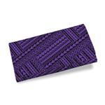 Polynesian Tribal Womens Wallet Purple K5