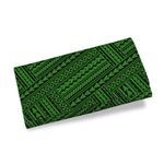 Polynesian Tribal Womens Wallet Green K5