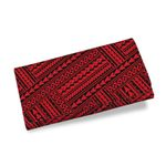 Polynesian Tribal Womens Wallet Red K5