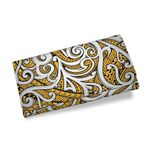 Maori Tribal Ornament Womens Wallet Yellow K5