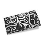 Maori Tribal Ornament Womens Wallet Grey K5