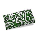Maori Tribal Ornament Womens Wallet Green K5
