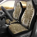 Paua Shell Whakairo Maori Car Seat Covers K5