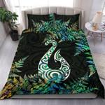 New Zealand Bedding Set Hei Matau Silver Fern Paua Shell TH45