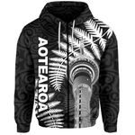 New Zealand Zip-Hoodie - Auckland Tower