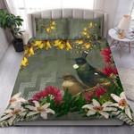 Tui Bird Bedding Set Maori Poutama K5