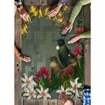 Tui Bird Maori Poutama Jigsaw Puzzle, Vertical K5