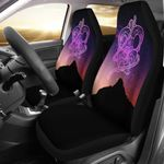 Maori Whakairo Rakau Car Seat Covers, Mauao Milky Way K5
