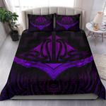 Maori Bedding Set, Purple Vibes K5