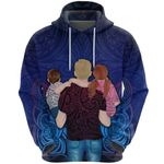 New Zealand Father Day Koru Tattoo Hoodie K8
